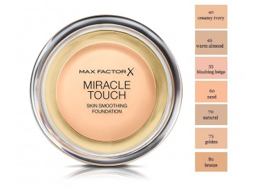 Old Formula Max Factor Miracle Touch Skin Smoothing Foundation