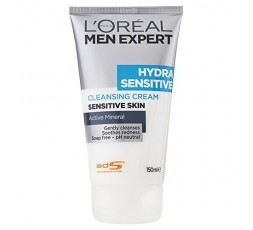 L'Oreal Men Expert Hydra Sensitive Cleanser with Active Mineral 150ml