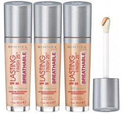 Rimmel Lasting Finish 25 HR Breathable Foundation
