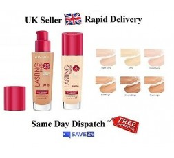 Rimmel London Lasting Finish 25 HR Foundation with Comfort Serum
