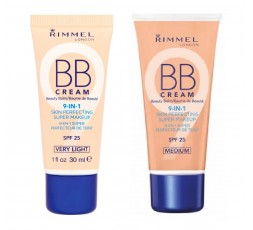 Rimmel BB Cream 9 In 1 Make-Up SPF 25