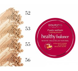 Bourjois Healthy Balance Unifying Powder, Sealed, 9g